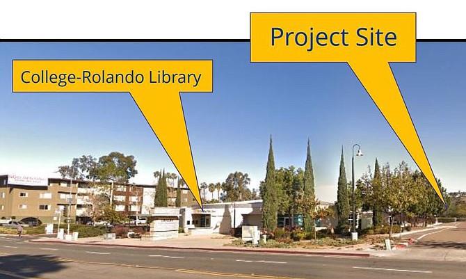 Student housing proposed at 6650 Montezuma Road