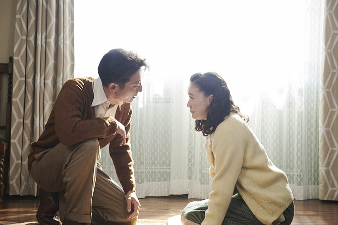 Wife of a Spy: light springs eternal for Issey Takahashi and Yû Aoi in Kiyoshi Kurosawa's otherwise workaday thriller.