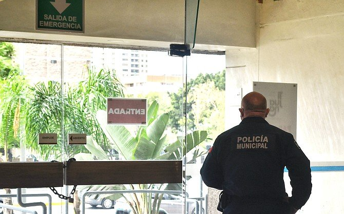 """""""The police came without any identification to take us out of our workspace."""""""