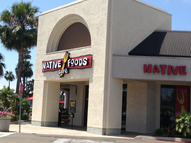Native Foods Cafe San Diego Ca