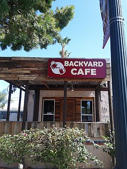 Backyard Cafe backyard café | san diego reader