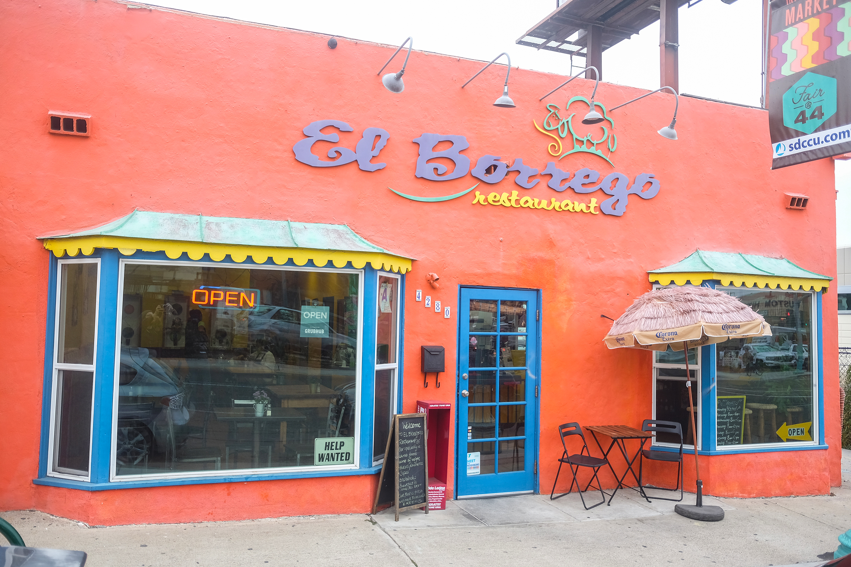 El Borrego Restaurant   San Diego Reader