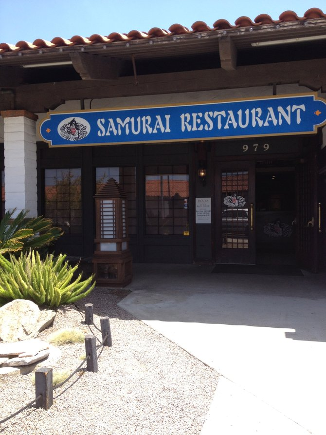 Samurai Japanese Restaurant San Diego Reader