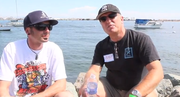 Ryan and Volker talk about watching a blue whale feed and free diving nearby.