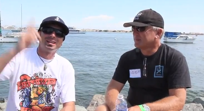 Ryan and Volker discuss the process of free dive spearfishing. Ryan relates the story of his largest catch, a 50-pound white sea bass, which was also his closest brush with death.