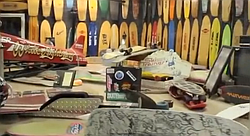 Tour of the Skateboard Museum in Simi Valley, California.