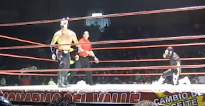 The wrestling spectacle that is Tijuana's lucha libre.
