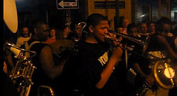 Just a typical night on Nola's Frenchmen Street.