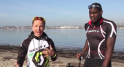 Lesley and Theo talk about sports, training, triathlons, and rehabilitation.