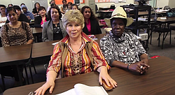 Beginning English speakers at the Mid-City campus of San Diego Continuing Education.