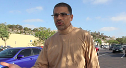 Jeffrey Sakali returns to the Fry's parking lot where he had been in an physical altercation with two strangers, beaten by one of them, and then subsequently detained by Sergeant Kenneth Davis.