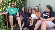 Mindi Post and her family talk about life in San Diego versus life in Bremerton, Washington.