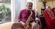 "Charles McPherson, San Diego resident and ""ranking bebop alto sax player in modern mainstream jazz,"" talks saxophone and demonstrates technique with his 60s-era Selmer saxophone."