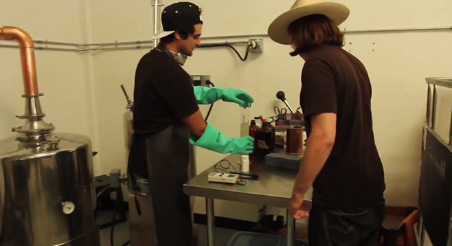 A short video profile of San Diego craft distillery Kill Devil that shows their production environment and shares their philosophy.