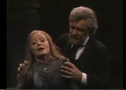 Die Walkure, from Bayreuth 1976, recorded 1980. Donald McIntyre as Wotan, Gwyneth Johnes as Brunhilde. Conducted by Pierre Boulez, directed by Patrice Chéreau.