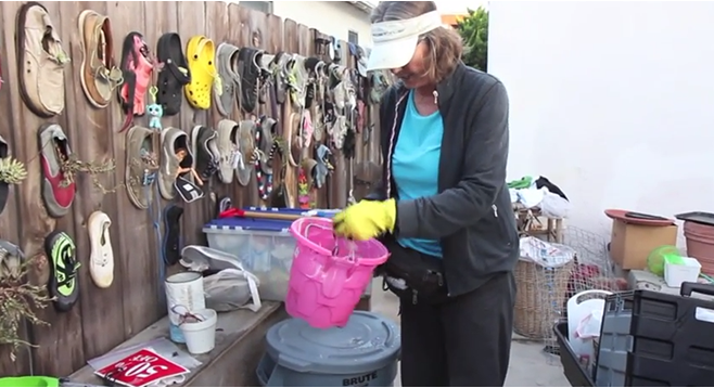 Mission Beach is one of San Diego's most polluted areas. Cathy Ives discusses the origins and consequences of trash at the beach and shows off her remarkable collection.