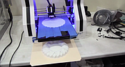 """SD3D founder and CEO David Feeney takes the Reader inside his shop, filled with 3D printers operating """"26 hours a day."""""""