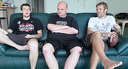 Three professional online poker players talk about their schedules, lifestyles, and risk.