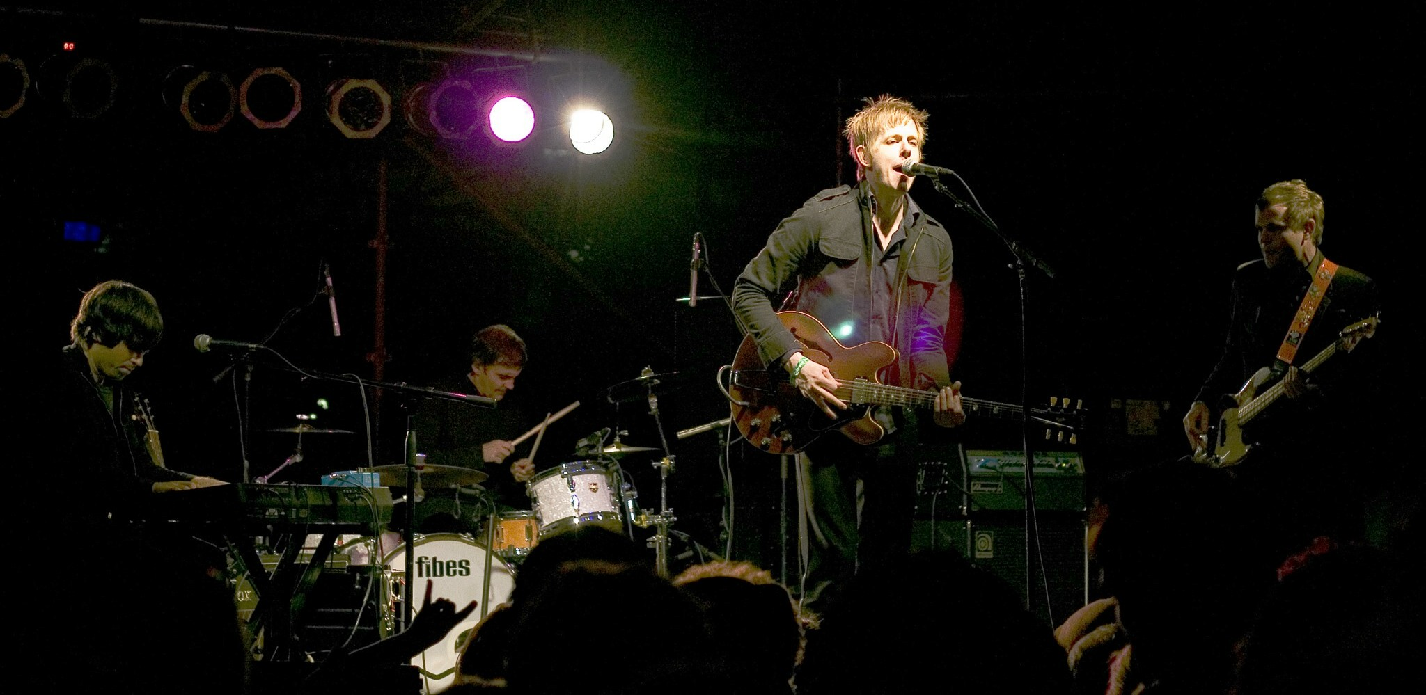 Spoon covers Wire at the Teragram in L.A. (May 31, 2015)