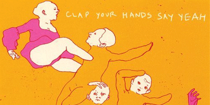 Off of Clap Your Hands' debut and performed live.