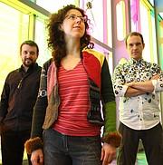 Marianne Trudel's Trifolia trio performs her original composition