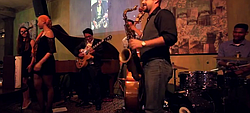 Abstrack the Band performs jazz classic during one of Gilbert Castellanos's Young Lions Series at Croce's Park West