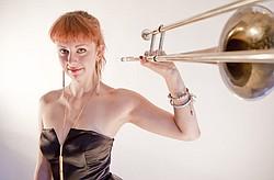 Natalie Cressman performs her original composition