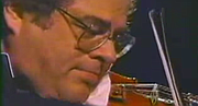 Itzhak Perlman shares something beyond his bio.