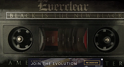 ...off of Everclear's latest, <em>Black Is the New Black</em>