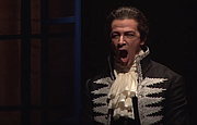 American bass-baritone Greer Grimsley portrays the heartless Baron Scarpia in a January 2015 production of <em>Tosca</em>.