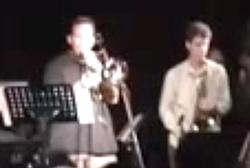 The Applebrown Jazz Ensemble, featuring Gabriel Sundy on baritone sax