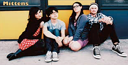 """...by San Diego """"Cat Pop"""" band Mittens"""