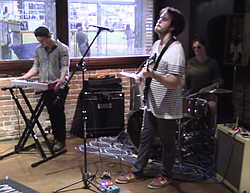 ...performed live by Grim Slippers at Stone Brewing Tap Room (2015)