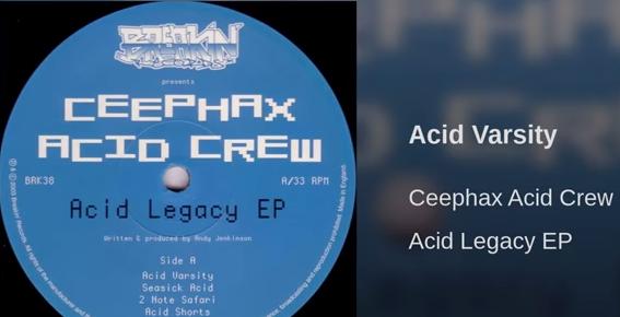 ...a sampler by Ceephax Acid Crew