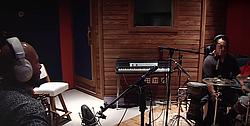 ...in studio