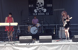 ...by Soft Lions, live at the 2015 Adams Ave Street Fair. Their new album, <em>XOXO</em> is due out October 28 via John Vanderslice's Tiny Telephone studio.