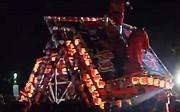 Fighting floats festival in Toyama, Japan