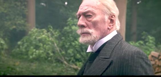 Christopher Plummer plays Wilhelm II