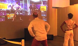 Dance Central and Ninja Fruit in action