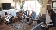 Mundell Lowe- guitar; Bob Boss- guitar; Claudia Gomez- tap percussion