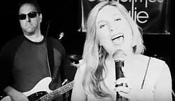 Singer-songwriter duo Monica Sorenson and Rick Walker of Sometimes Julie