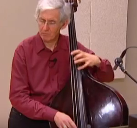 "Dresser explains his approach to music, with footage from a performance of ""Bacachaonne,"" a solo bass piece dedicated to Cuban bass player Cachao."