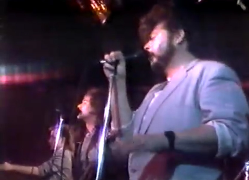 The Monroes performing live in 1984 on Club 33