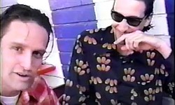 "Unreleased footage from a 1995 video shot in San Diego featuring the Rugburns (""Hitchhiker Joe,"" etc) with Frank Zappa and Bill Mumy collaborator Larry ""Wild Man"" Fischer."