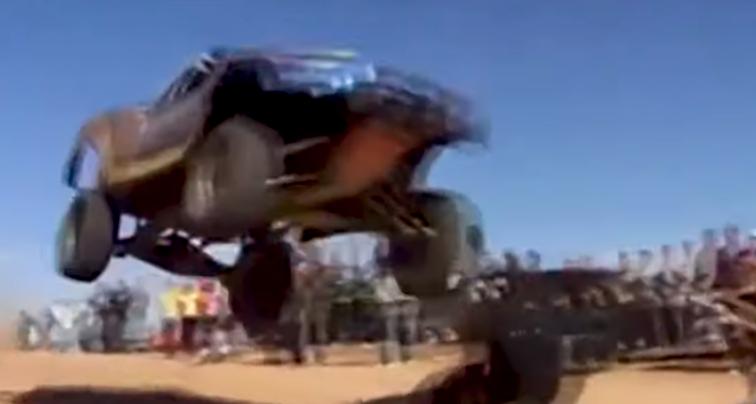 Clips of spectators hit in past Baja races