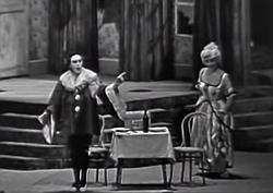 Mario del Monaco & Gabriella Tucci - No! Pagliaccio non son! - Tokyo 1961