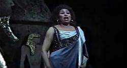 """Opera farewell """"O patria mia"""""""