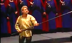 Siegfried Jerusalem as Parsifal, Bernd Weikl as Amfortas, Hans Sotin as Gurnemanz